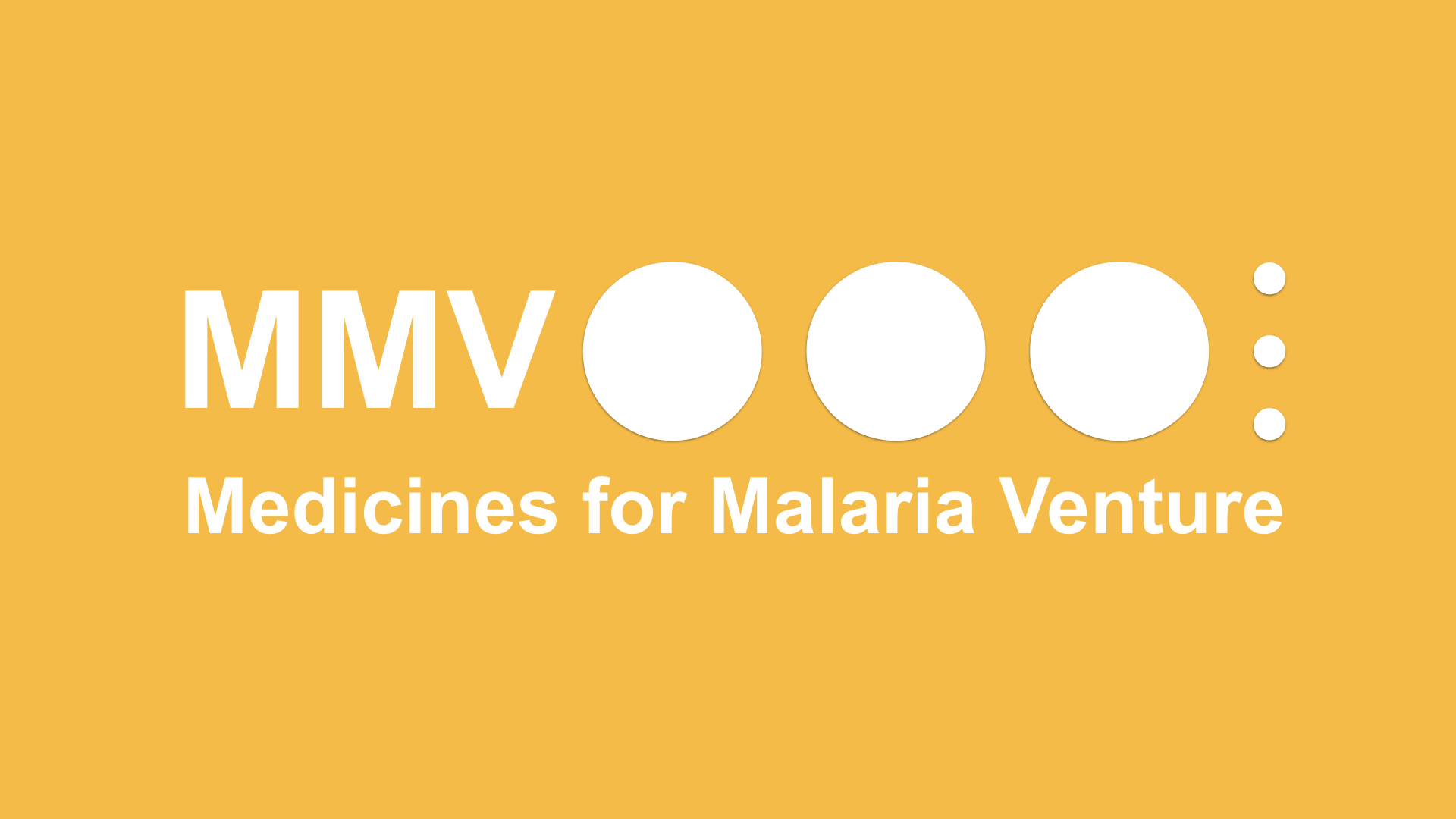 The Medicines For Malaria Venture